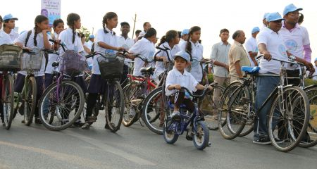 EARTH DAY CYCLE RALLY